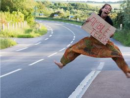 Tips for hitchhikers and first-time hitchhikers